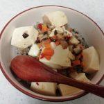 ヴィーガンレシピ 椎茸の麻婆豆腐丼 vegan mabo tohu donburir ecipe with shiitake