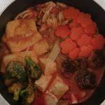 ヴィーガントマト鍋 vegan recipe tomato hot pot